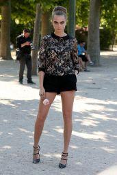 Cara Delevingne - Out in Paris, June 2015