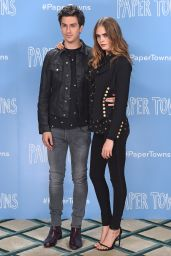 Cara Delevingne - Paper Towns Press Tour in London, June 2015