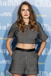 Cara Delevingne - Paper Towns Press Tour in Madrid, Spain