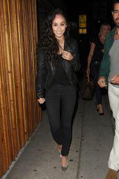 Cara Santana - Leaving a Club in Hollywood, June 2015