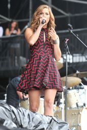 Cassadee Pope - 2015 FarmBorough Country Music Festival in New York City