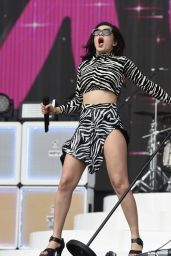 Charli XCX Performing at BBC Radio One Big Weekend at Earlham Park in Norwich, May 2015