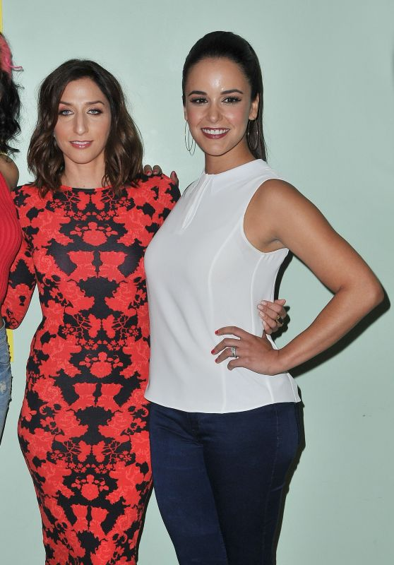 Chelsea Peretti & Melissa Fumero - Brooklyn Nine-Nine FYC Panel in Los Angeles, June 2015