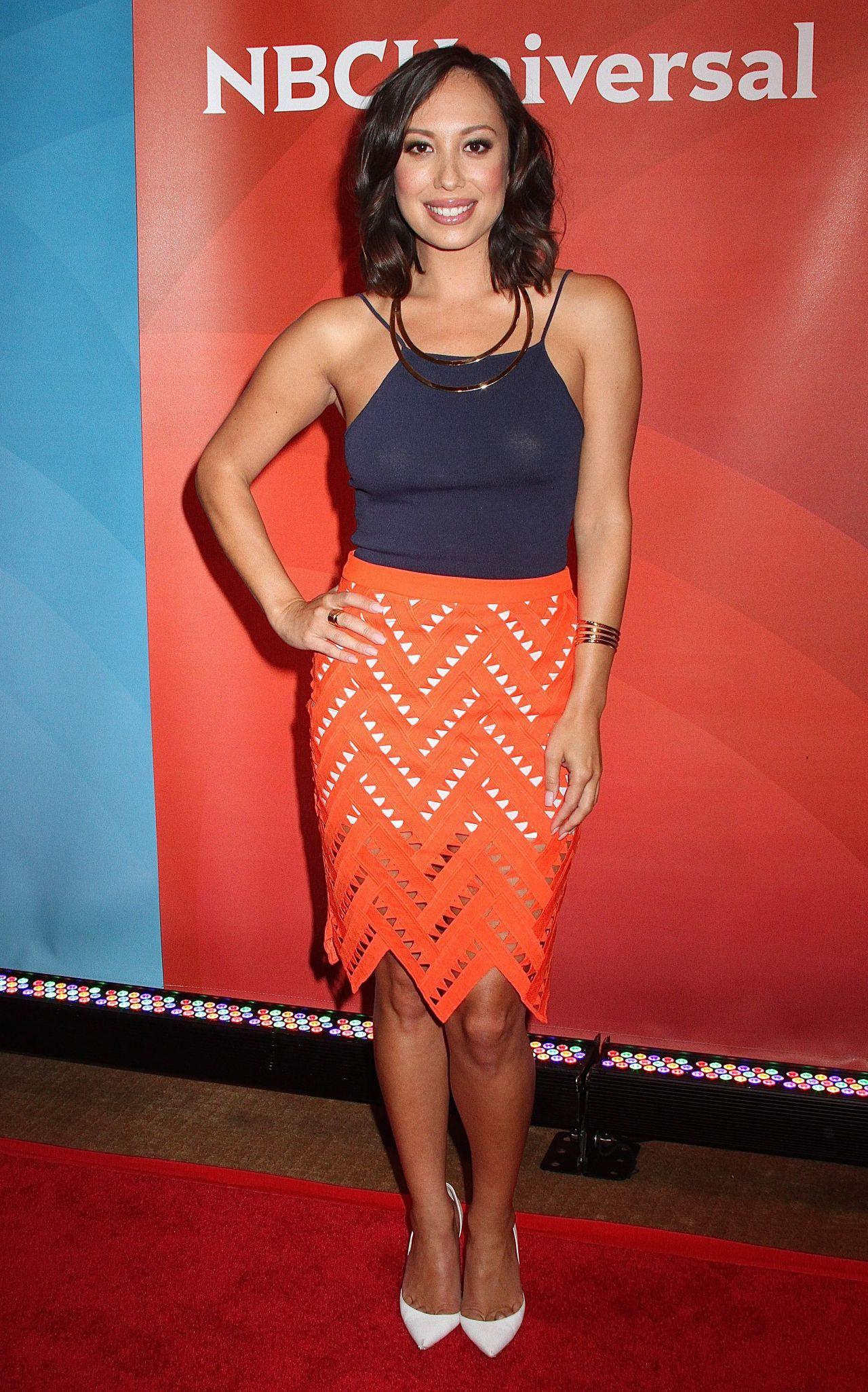 Cheryl Burke – NBC's 2015 New York Summer Press Day Cheryl Burke