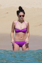 Chloe Bridges in a Bikini on a Beach in Hawaii - June 2015