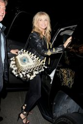 Christie Brinkley - Leaving the Chateau Marmont in West Hollywood - June 2015