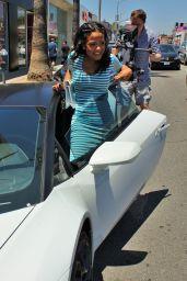 Christina Milian at Her