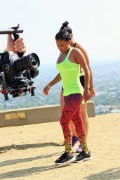 Christina Milian - Filming