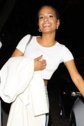 Christina Milian Night Out Style - Outside Mr. Chow and Hooray Henry
