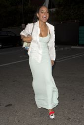 Christina Milian Night Out Style - Outside The Chateau Marmont, June 2015