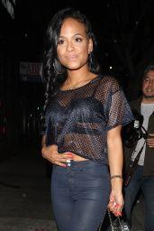 Christina Milian - Outside Warwick Nightclub, June 2015
