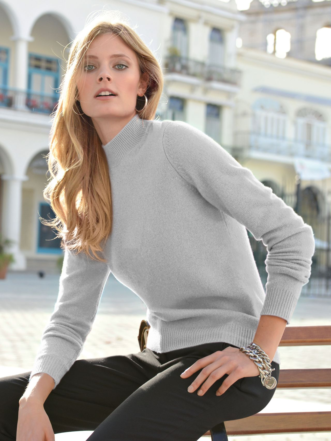Constance Jablonski Peter Hahn Fall Winter Collection 2015