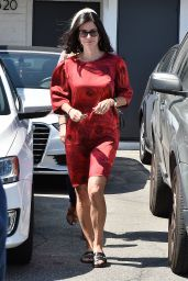 Courteney Cox - Out in Los Angeles, June 2015