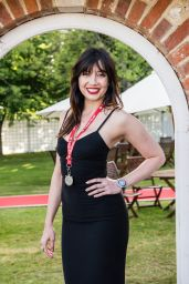 Daisy Lowe at 2015 Goodwood Festival of Speed in Chichester, England