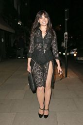 Daisy Lowe Night Out Style - London, June 2015