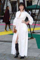 Daisy Lowe - Royal Academy of Arts Summer Exhibtion in London, June 2015