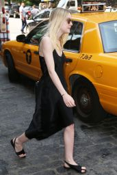 Dakota Fanning - Out in New York City, June 2015