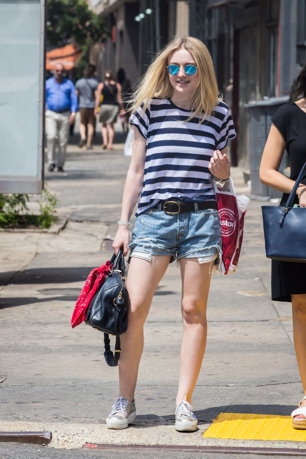 Dakota Fanning - Out in NYC, June 2015