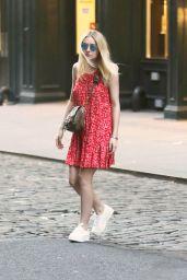 Dakota Fanning - Out in Soho, New York City, June 2015