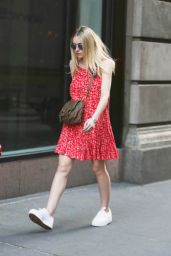 Dakota Fanning - Out in Soho, New York City, June 2015