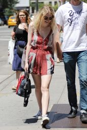 Dakota Fanning - Out Shopping in Soho, New York, June 2015