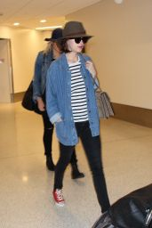 Dakota Johnson at LAX Airport, June 2015