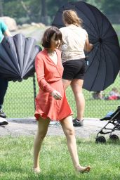 Dakota Johnson - How To Be SIngle Movie Set in New York City, May 2015