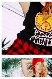 Dani Thorne - Petals and Peacocks Summer Lookbook 2015