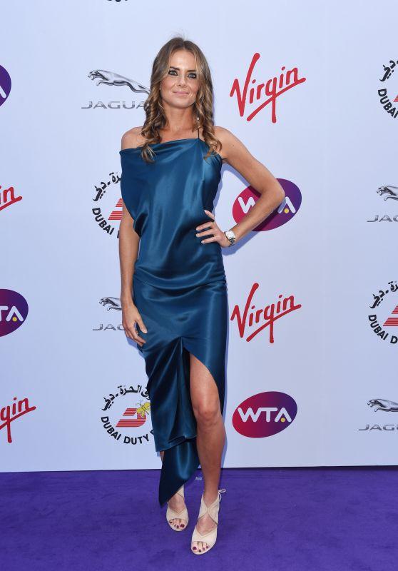 Daniela Hantuchova – Pre-Wimbledon Party 2015 at Kensington Roof Gardens 99 in London