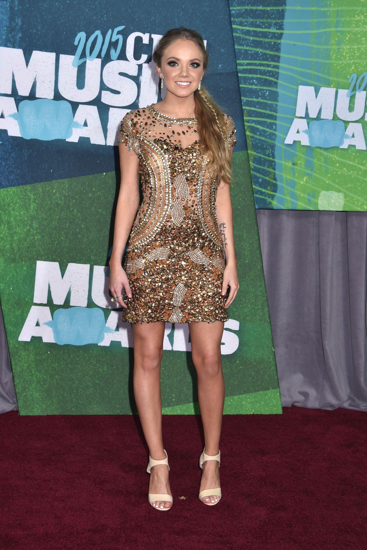 Danielle Bradbery Legs >> Danielle Bradbery - 2015 CMT Music Awards in Nashville
