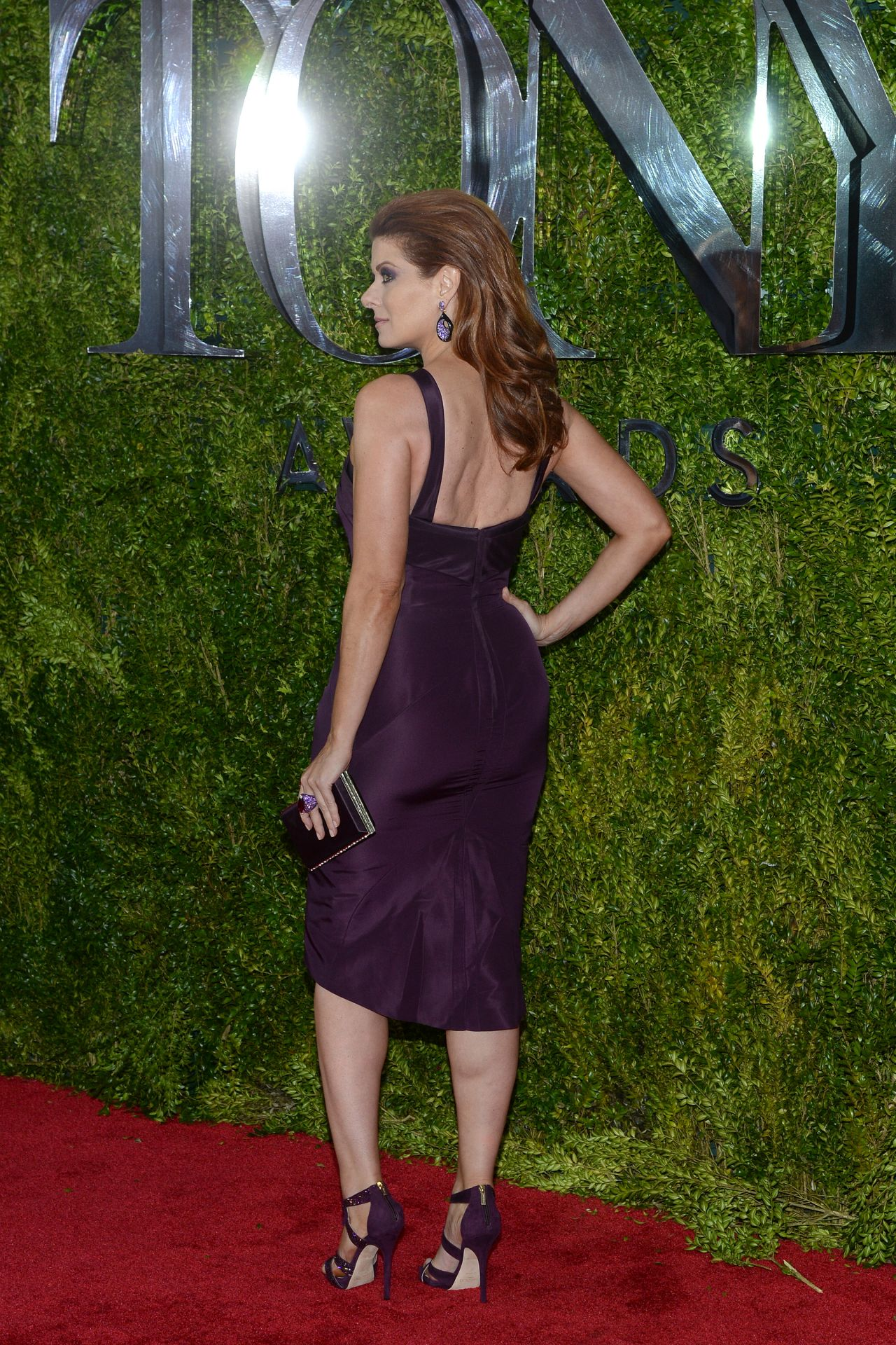 Debra Messing 2015 Tony Awards In New York City