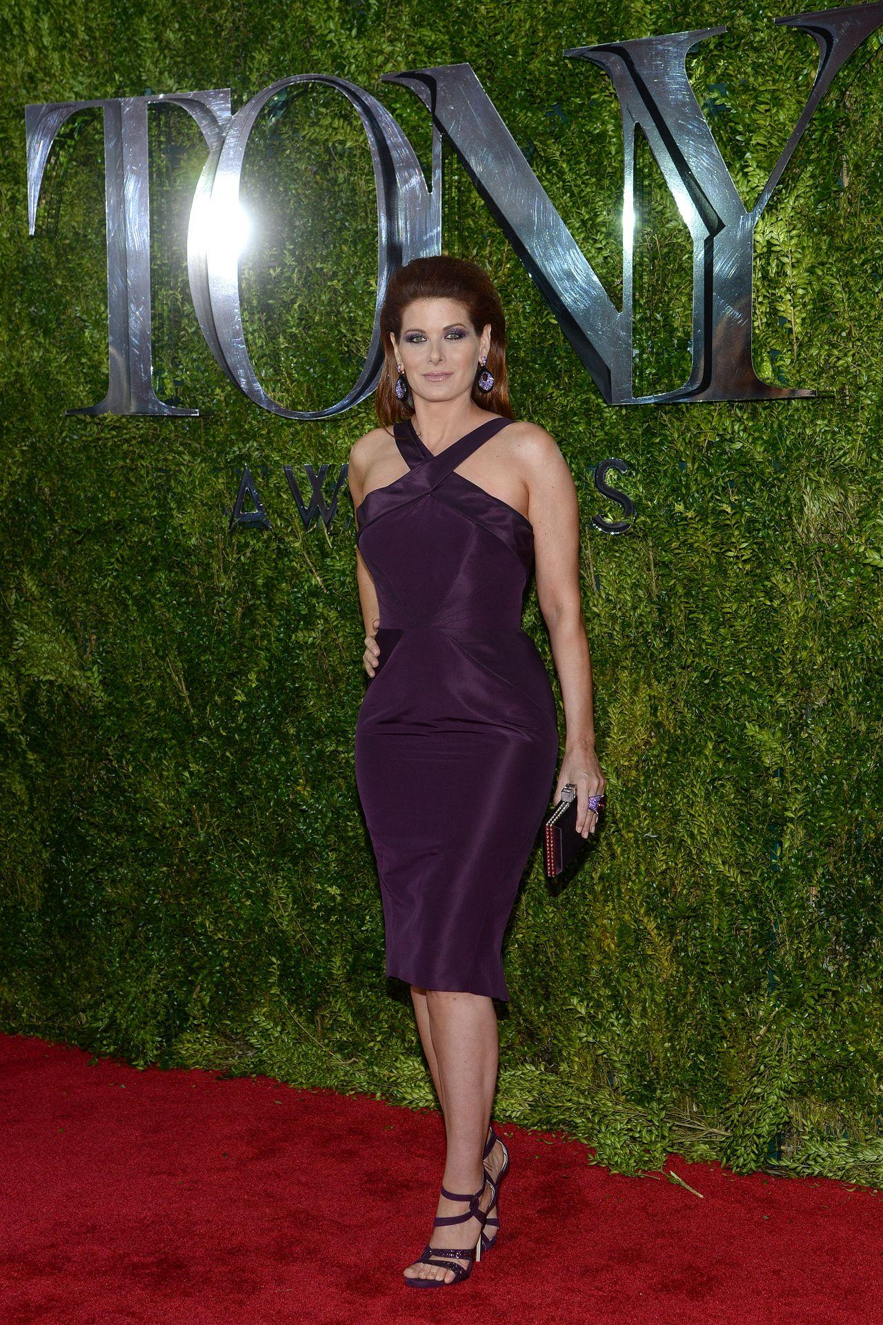 Debra Messing 2015 Tony Awards In New York City