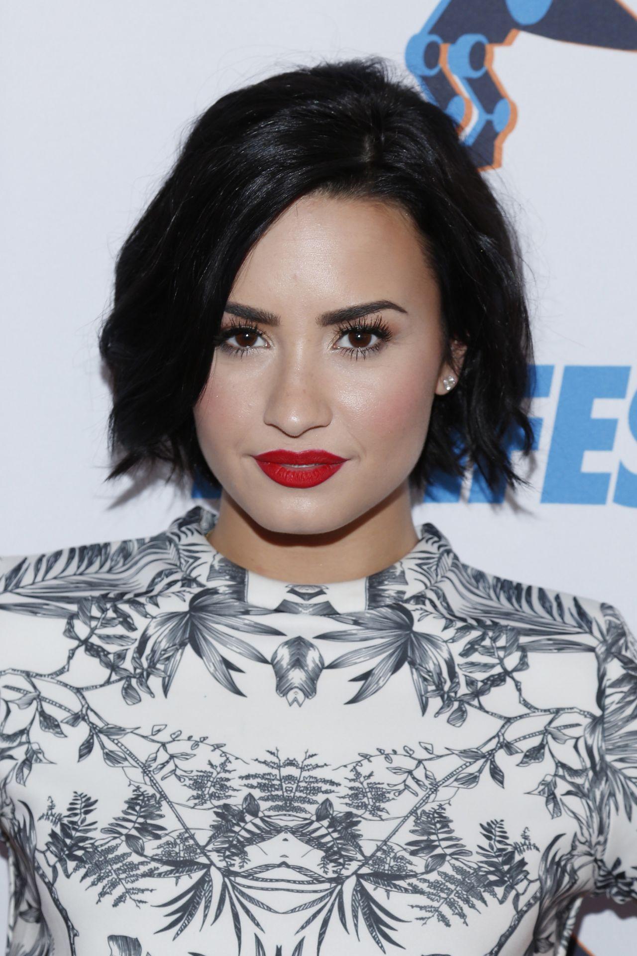 Demi Lovato Digifest New York City 2015