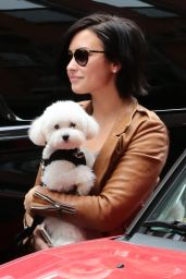 Demi Lovato - Out in NYC, June 2015
