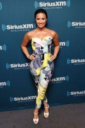 Demi Lovato Style - SiriusXM Studios in NYC, June 2015