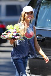 Denise Richards Going to a Party in BelAir, June 2015