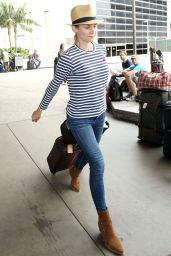 Diane Kruger - Arrives From Paris at LAX Airport, June 2015
