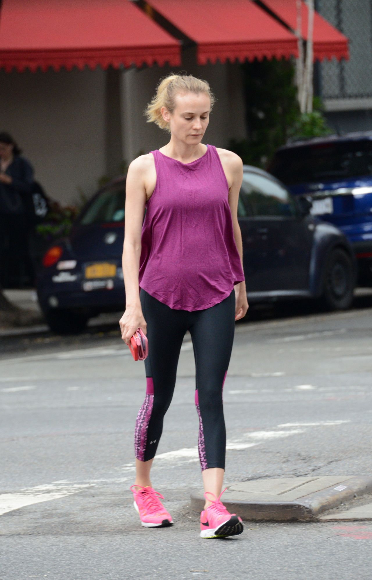 Diane kruger gym style out in new york june 2015