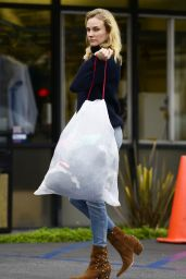 Diane Kruger in Jeans - Out in West Hollywood, June 2015