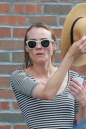 Diane Kruger - Leaving Her Hotel in New York City, May 2015