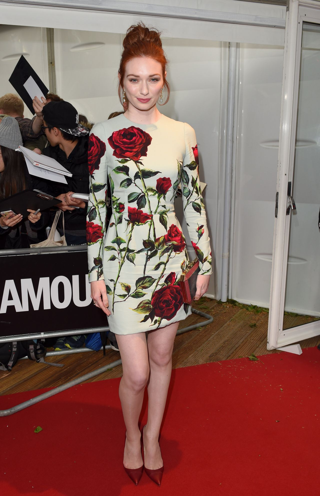 Eleanor Tomlinson 2015 Glamour Women Of The Year Awards