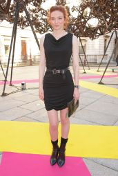 Eleanor Tomlinson - 2015 Royal Academy of Arts Summer Exhibtion in London