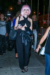 Elizabeth Gillies Night Out Style - New York CIty, June 2015