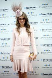 Elizabeth Hurley - Investec Derby Festival in Epsom, June 2015