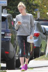 Elle Fanning - Out in LA, June 2015