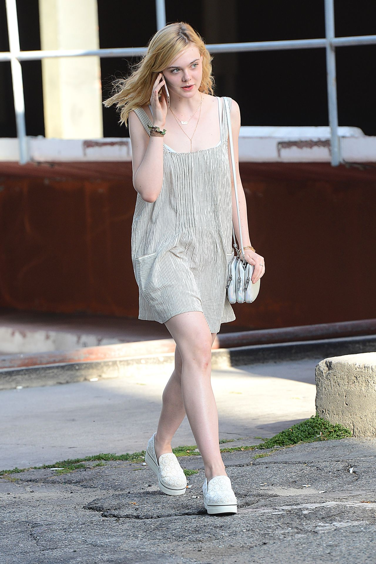 Elle fanning out in west hollywood june 2015 for Le elle apartments west hollywood