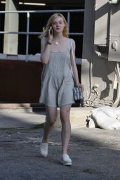 Elle Fanning - Out in West Hollywood, June 2015