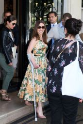 Emilia Clarke - at Her Hotel in Paris, June 2015