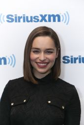 Emilia Clarke at SiriusXM Studios in New York City - June 2015