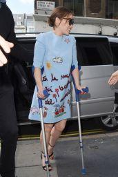 Emilia Clarke - Kiss FM in London, June 2015